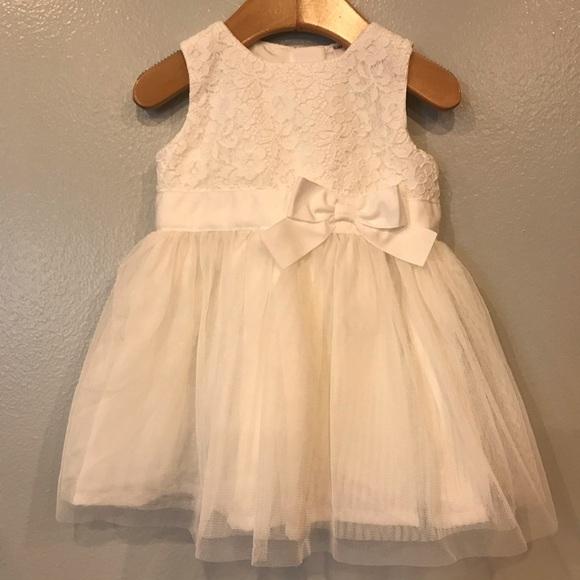 Carter's White Formal Dress